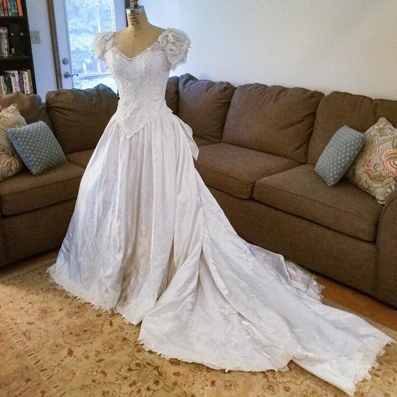 House of Bianchi Dresses   Vintage Wedding Dress   Poshmark